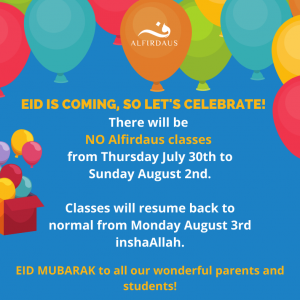 Eid Is Coming, So Let's Celebrate!