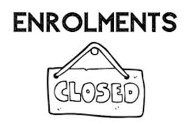 Enrolments Closed