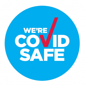 We're Covid Safe ✅